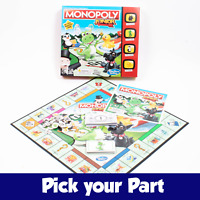 PICK YOUR PARTS - Monopoly Junior - SPARES / REPLACEMENTS