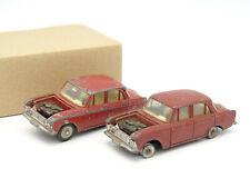 Dinky Toys France R 1/43 - Lot de 2 Moskvitch 408 1410 Pour pièces