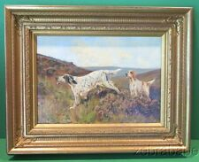 Kay Nixon (1895-1988) Oil Painting English Spaniel Dogs
