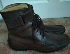TREMP ITALIAN MADE MEN'S LEATHER ANKLE BOOTS UK SIZE 9 (43.5)