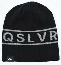 QUIKSILVER Men's Warm Reversible Beanie Hat, Black