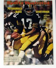 Sports Illustrated September 23, 1974 Joe Gilliam Pittsburgh's Black Quarterback