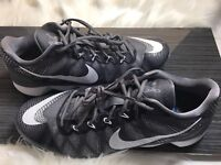 Nike CJ3 Trainer Flyweave Grey Men's Training 725231 001 Sz 12 US Men's