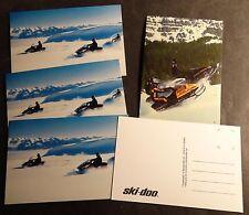(5) VINTAGE SKI-DOO SNOWMOBILE UNUSED POST CARDS MACH 1 & FORMULA PLUS (668)