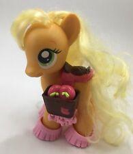 "My Little Pony FASHION STYLE 6"" Applejack 1st Edition w/ shoes saddle Apple Jack"