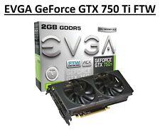 EVGA NVIDIA GeForce GTX 750 Ti 2GB (2048MB) FTW w/ ACX Cooling (02G-P4-3757-KR)