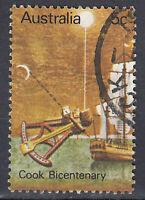 Australien Briefmarke gestempelt 5c Cook Bicentenary / 35
