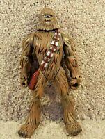 "2005 Hasbro Star Wars Force Battlers Chewbacca Wookie Action Figure Loose 7"""