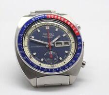 Seiko Chronograph 6139 6002 Automatic 1970s Vintage Japanese Sports Watch Pogue