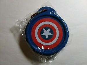 LOOT CRATE EXCLUSIVE MARVEL CAPTAIN AMERICA COLLAPSIBLE BOWL WITH CLIP FOR BELT