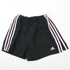 Adidas Running Shorts Women CLIMALITE Built In Tights Lining Pink 3 Stripe Small