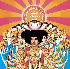 Jimi Hendrix Axis Bold as Love Remastered CD