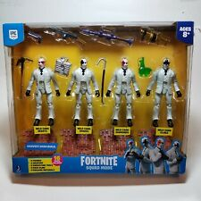 Fortnite Squad Mode High Stakes Wild Card 4 Figure Pack NEW sealed