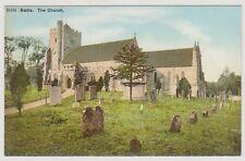 Sussex (East) postcard - Battle, The Church