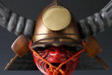 Japanese Vintage Samurai Helmet -Kuroda Nagakasa- Rare!