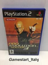 PES 3 PRO EVOLUTION SOCCER 3 - SONY PS2 - GIOCO USATO PERFETTAMENTE FUNZIONANTE