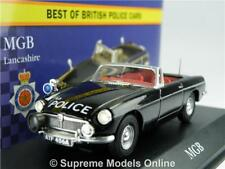 MGB MODEL CAR POLICE LANCASHIRE 1:43 SCALE CORGI VANGUARDS ATLAS CONVERTIBLE K8