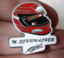 BEAU PIN'S CASQUE PILOTE F 1 FORMULA ONE MICHAEL SCHUMACHER MERCEDES