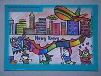 Hong Kong City Of Life Come And Visit Us I'll Show You Tsang Wing Chi Postcard
