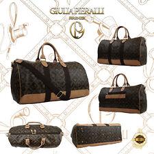 Damentasche Giulia Pieralli Handtasche Reisetasche Unisex Designertasche braun
