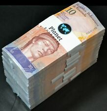 Venezuela Bolivares 2014 10 Fuerte, 1000 Pieces 1 Brick Au/Unc Rare X Prefix