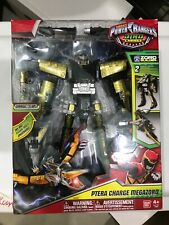 Power Rangers Petra Charge Megazord (3 Zords Combine) Zord Builder Super T-Rex