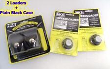 2-Lot 10-A HKS SpeedLoaders & Case for S&W 38/357 K Frame 10 19 66 TAURUS 80 82
