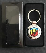 ABARTH FIAT 500 595 PUNTO SPORT COUPE METAL KEYRING IN QUALITY GIFT BOX BIRTHDAY