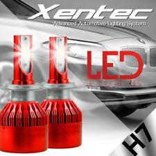 120W 12800lm Duel Sides CREE LED Headlight Kit H7 Low Beam 6000K Bulb White Lamp
