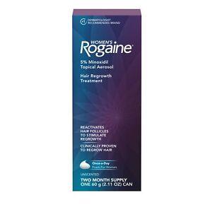 Damen Original ROGAINE 5% Schaum für Haare Nachwachsen, 2-Month Direkt Vom USA