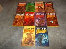 DOC SAVAGE ACTION SERIES~KENNETH ROBESON~TEN CONSECUTIVE BOOKS~11 THROUGH 20