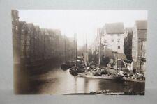 neue AK HAMBURG - Hintere Ansicht des alten Wandrahm - Motiv von 1883