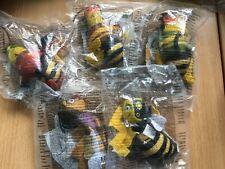 Adam Flayman Small Soft Plush 2007 Mcdonalds Happy Meal Toy UK The Bee Movie