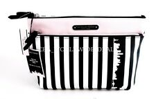 Victoria's Secret New York City Exclusive Double Zip Beauty Makeup Cosmetic Bag