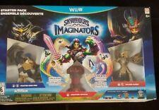 Skylanders Imaginators Starter Pack Wii U New Sealed King Pen Golden Queen