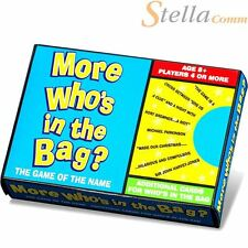 Paul Lamond More Who's In The Bag Trivia Strategy Board Game - Additional Cards