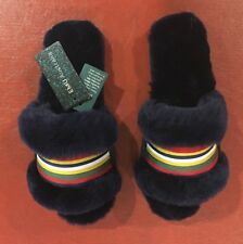 Free People Emu Australia Wrenlette Slipper Navy Blue. NWT! Size 7. $60 Free S&H