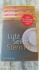 Lutz Seiler Stern 111 Leipziger Buchpreis