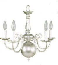Silver Mist 5 Light Chandelier