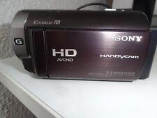camera hd sony HDR-CX350 32go localisation gps exmor R