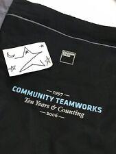 Goldman Sachs Bag Banker Tote 2006 1997 Community Teamworks w/ Side Pocket RARE