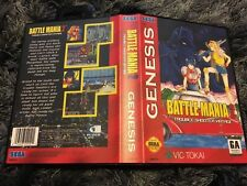 Battle Mania 2 SEGA Mega Drive USA Version - Custom Game - Grade AAA+++