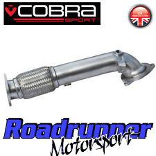 "Cobra Sport Fiesta ST180 3"" De Cat Downpipe Exhaust Stainless Front Pipe FD70"