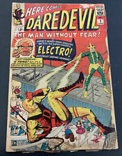Daredevil #2 LOW GRADE 2nd App Daredevil & Electro Marvel Silver Age KEY Comic