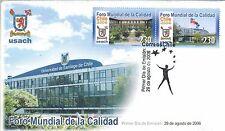 Chile 2006 FDC Foro Mundial de la Calidad Universidad de Santiago
