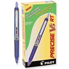 Pilot PV5R V5 RT Retractable Rolling Ball, Extra Fine, Blue (PIL 26063) - 12/pk