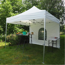 Aluminium Pop Up Gazebo Outdoor Catering With Roof & Walls - Heavy duty 3m x 3m