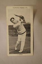 1953 - Vintage - Morning Foods Ltd. - Cricket Card - I. Craig - New South Wales