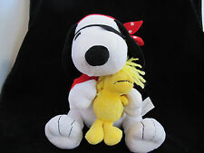 Peanuts Halloween Snoopy & Woodstock dressed as Pirates  (Gemmy)