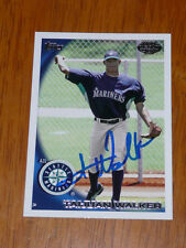 TAIJUAN WALKER Signed 2010 Topps Pro Debut Card AUTO Autograph Seattle Mariners